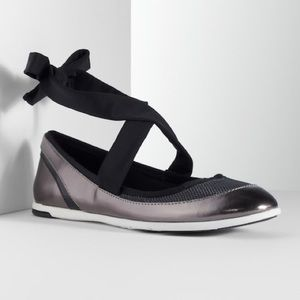 Simply Vera Lace Up Ballet Flats